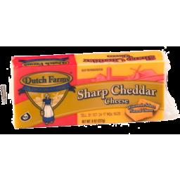 Photo of Dutch Farm Sharp Cheddar Cheese