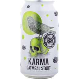 Photo of Hop Nation Karma Oatmeal Stout Can