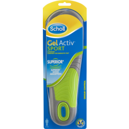 Photo of Scholl Gel Activ Sport Insoles Men