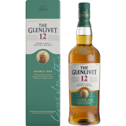 Photo of The Glenlivet 12 Year Old Single Malt Scotch Whisky Double Oak 700ml