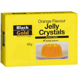 Photo of Black & Gold Jelly Orange Natural 85g