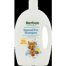 Photo of Herbon Pet Shampoo - Natural