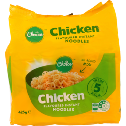 Photo of Choice Instant Noodles Chicken 5 Pack