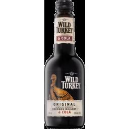 Photo of Wild Turkey & Cola Bottle