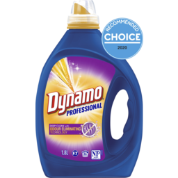 Photo of Dynamo Professional With Odour Eliminating Technology Liquid Laundry Detergent, 1.8l