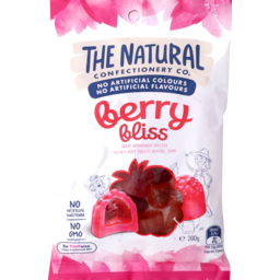 Photo of The Natural Confectionery Co. Berry Bliss Lollies 200g