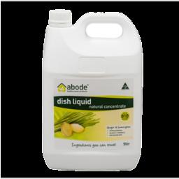Photo of Abode Dish Liquid - Ginger & Lemongrass 5L