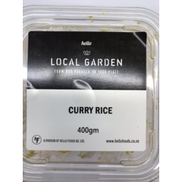 Photo of Local Garden Curry Rice 400g