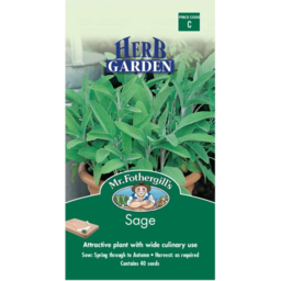 Photo of Mr Fothergill's Herb Sage