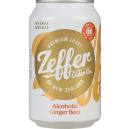 Photo of Zeffer Alcoholic Ginger Beer 330ml