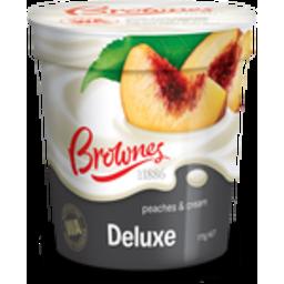 Photo of Brownes Yog Peaches&Cream 1kg