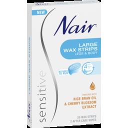 Photo of Nair Sensitive Large Wax Strips 20 Pack