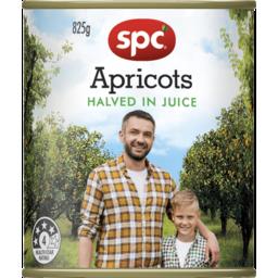 Photo of Spc Apricot Halves Juice 825g