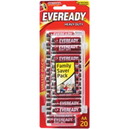 Photo of Eveready Red Hd Aa 20pk
