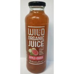 Photo of Wild Organic Apple & Guava Juice
