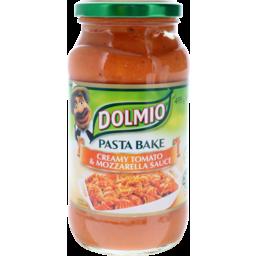 Photo of Dolmio Pasta Bake Creamy Tomato Mozzarella 495g