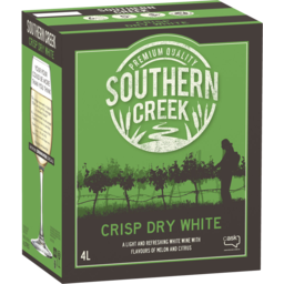 Photo of Southern Creek Crisp Dry White Cask