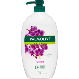 Photo of Palmolive Naturals Orchid Body Wash With Moisturising Milk 0% Parabens Recyclable 1l