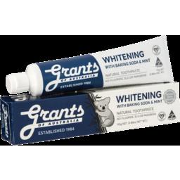 Photo of Grants Toothpaste - Whitening 110g