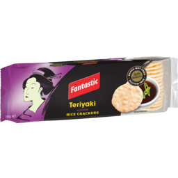 Photo of Fantastic Rice Crackers Teriyaki I 100g