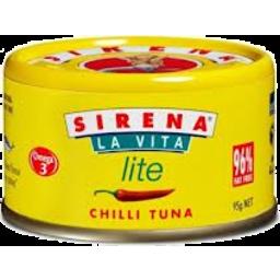 Photo of Sirena Tuna Chilli Lite 95g