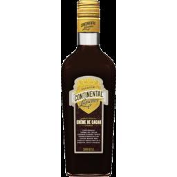 Photo of Continental Liqueurs Creme De Cacao 500ml Bottle
