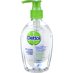 Photo of Dettol Healthy Touch Liquid Antibacterial Instant Hand Sanitiser 200ml