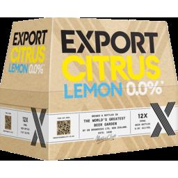 Photo of Export Citrus 0.0% 12 x 330ml Bottles
