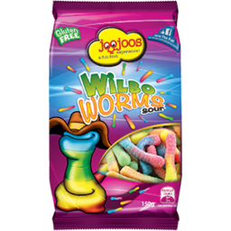 Photo of Joo Joos Wild Worms Sour 180g