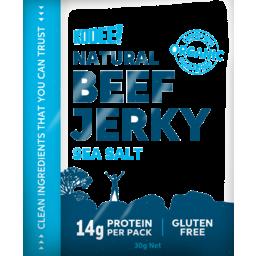 Photo of Kooee! Beef Jerky (Grass-Fed) - Classic Sea Salt