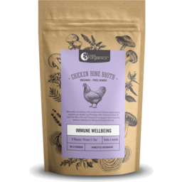 Photo of Nutra Organics - Chicken Broth - Immune Wellbeing Mushroom - 100g