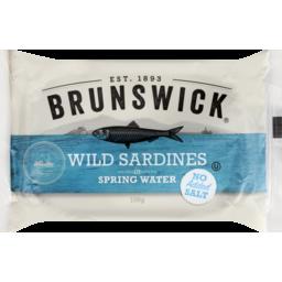 Photo of Brunswick Sardines in Springwater 106g