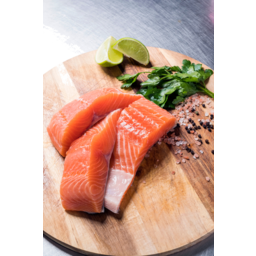 Photo of Salmon Portions Approx. 200-250 Grams