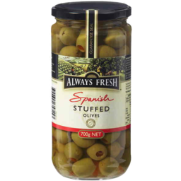 Photo of Always Fresh Spanish Stuffed Olives 700gm