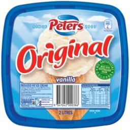Photo of Nestle Peters Original Vanilla 2lt