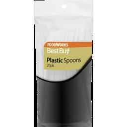 Photo of Best Buy Plastic Spoons 20pk