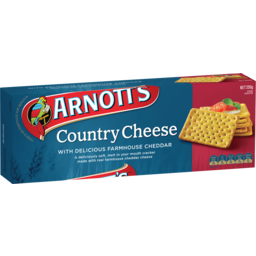 Photo of Arnott's Crackers Country Cheese 250g