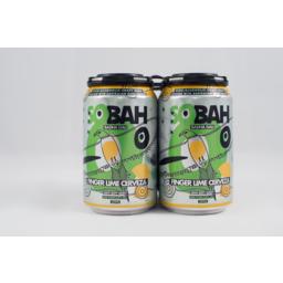 Photo of Sobah Finger Lime Cerveza 4 Pack