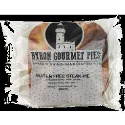 Photo of Byron Gourmet Pies GF Steak Pie