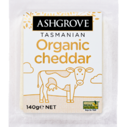 Photo of Ashgrove Organic Cheddar 140g
