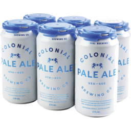 Photo of Colonial Brewing Co. Pale Cans