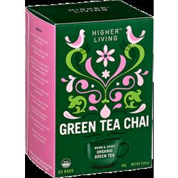 Photo of Higher Living Tea Green Chai 40gm