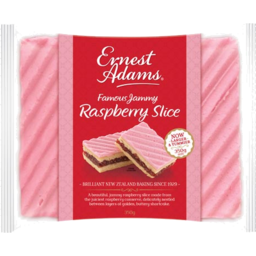 Photo of Ernest Adams Slice Raspberry 350g