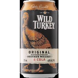 Photo of Wild Turkey Bourbon & Cola Can