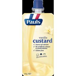 Photo of Pauls Custard Vanilla 140g
