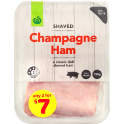 Photo of WW Shaved Champagne Ham 150g