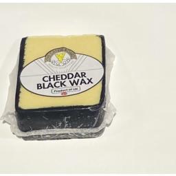 Photo of Cheese Board Cheddar Black Wax Kg