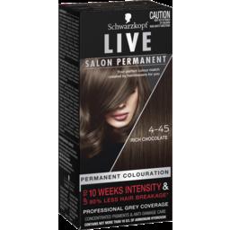 Photo of Schwarzkopf Live Salon Permanent 4-45 Rich Chocolate