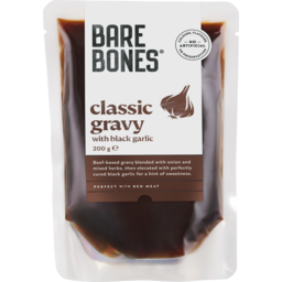 Photo of Bare Bones Classic Gravy With Black Garlic 200g