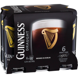 Photo of Guinness Draught Cans 6 Pack